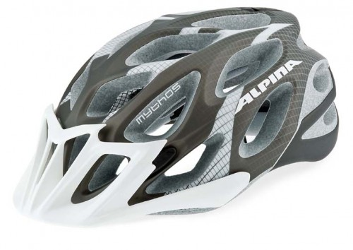 fahrradhelm alpina mythos l e anthracite white ebay. Black Bedroom Furniture Sets. Home Design Ideas