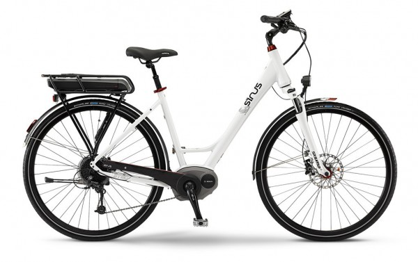 e bike sinus bai bt20 400wh 250w 36v 28 9 g einrohr in. Black Bedroom Furniture Sets. Home Design Ideas
