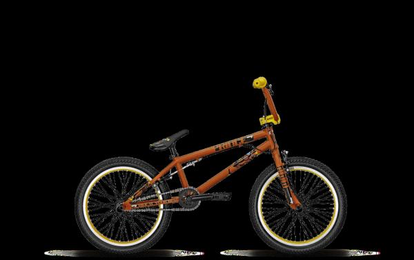 """BMX Univega BX PRINCE 20"""" RH 24 cm Herren in red matt"""
